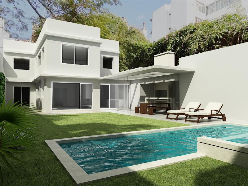 Casa roque graseras dise o arquitectura moderna uruguay - Fotos de las mejores casas ...