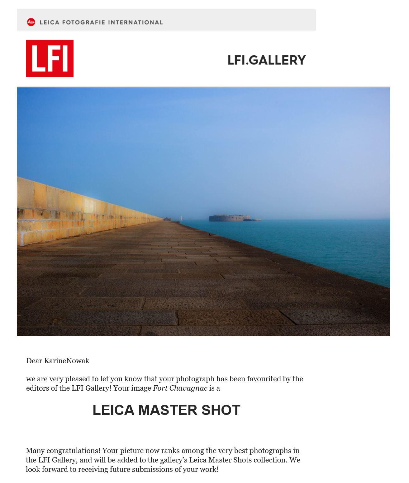 Leica Fotografie International Karine Nowak