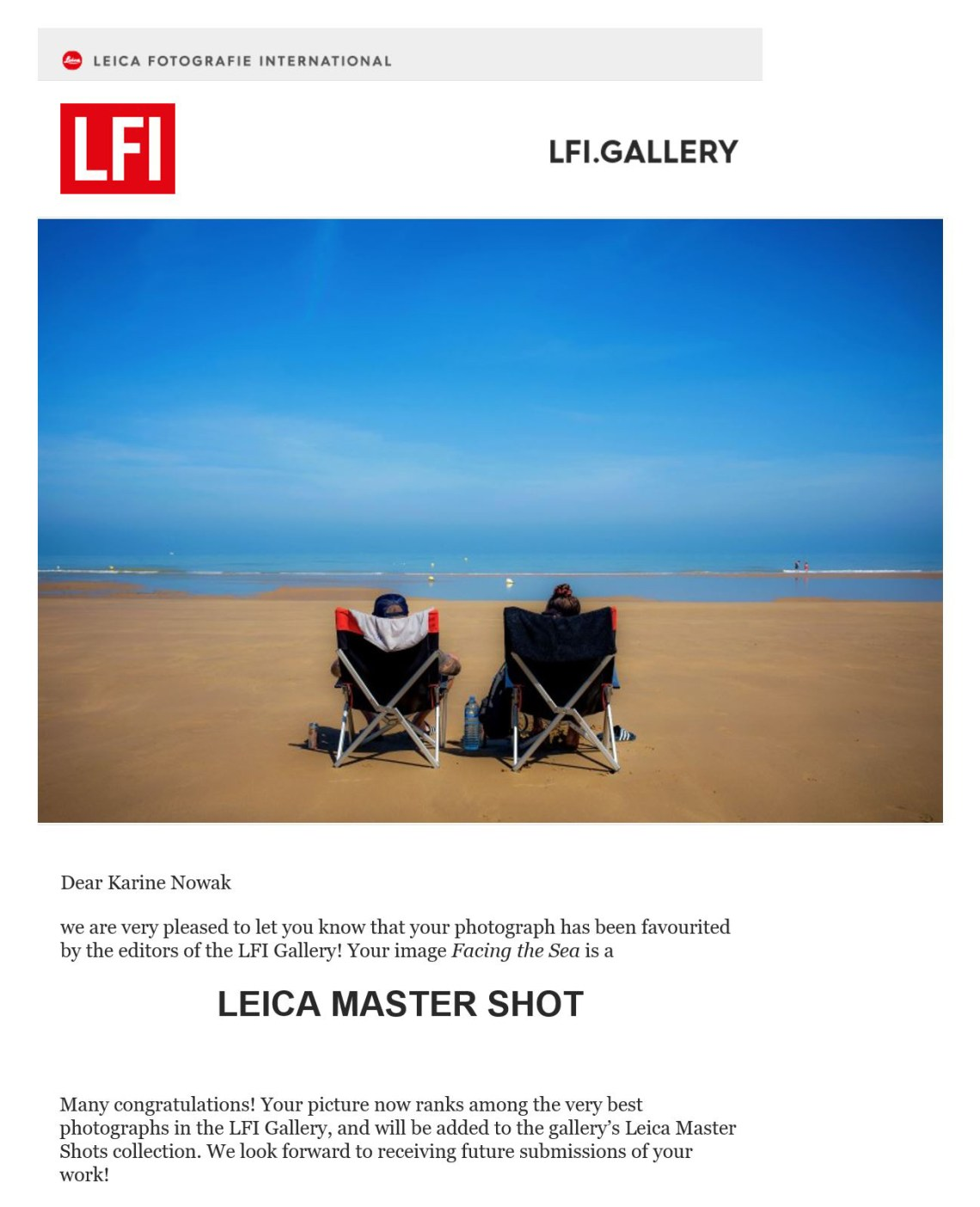 Leica Fotografie International LFI Gallery Karine Nowak