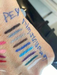 makeup pailleté Onikha