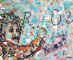 """""""Einstein"""" 50x60cm"""