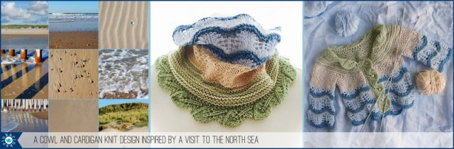 knit design inspired by the north sea