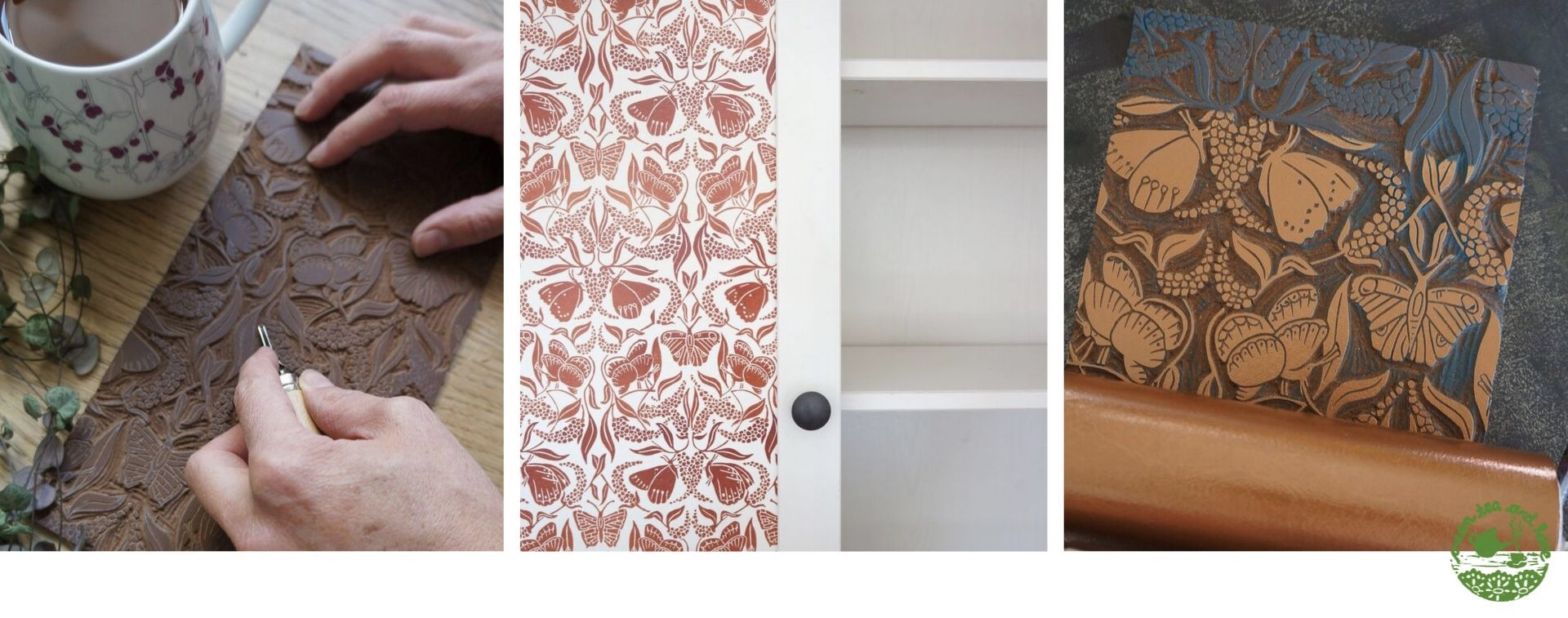 Tutorial – how I updated an IKEA cupboard with custom printed wallpaper