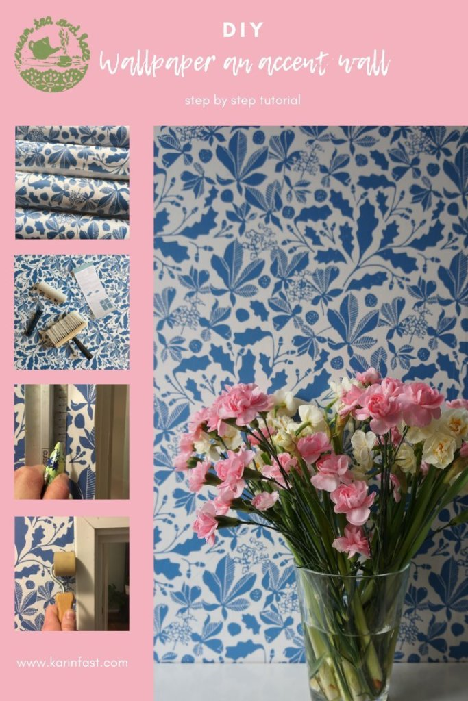 step by step tutorial how to wallpaper