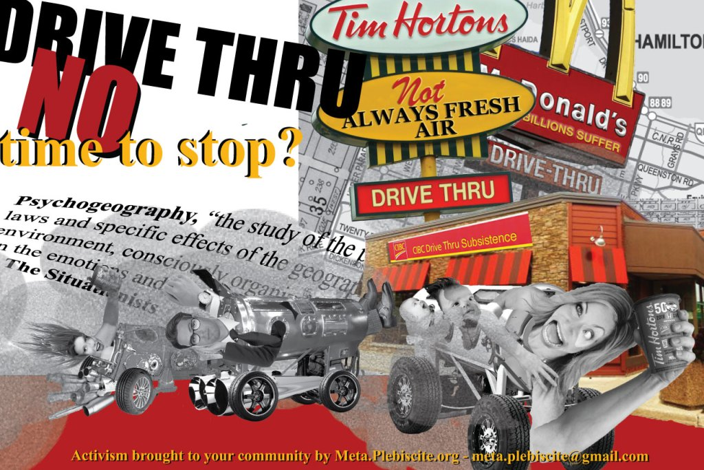 Drive Thru Poster