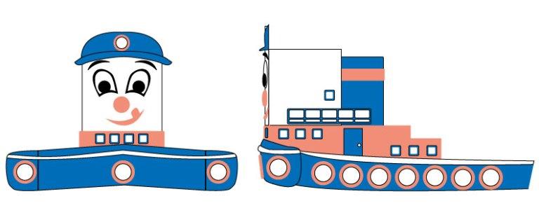 3D Tugboat | Burlodge