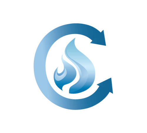 Complete Combustion Gas Icon