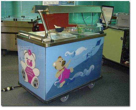 Stollery Children's Hospital | Burlodge_cart
