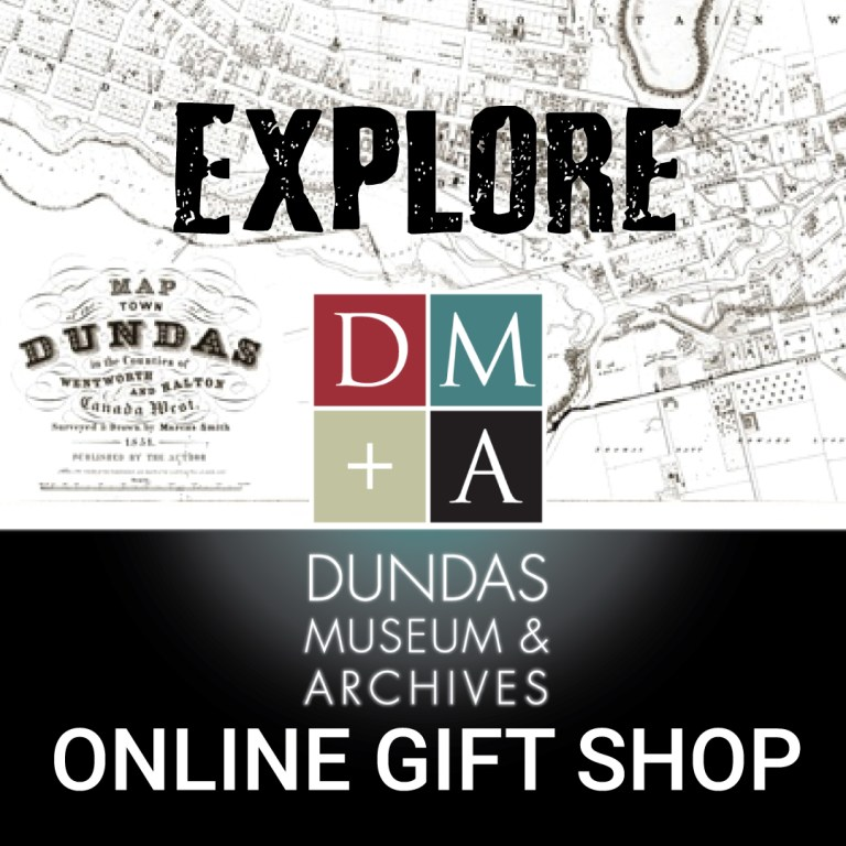 Dundas Museum and Archives Social Media Gift Shop Campaign Promotion