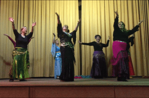 Bridgewater class performing Habibi Ya Eini at the winter hafla