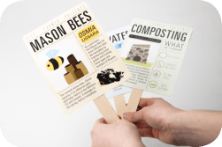 7. Lia McMillan: Bee Info Signs