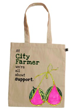 9. Cheryl Swan: We're all about support. Canvas Bag