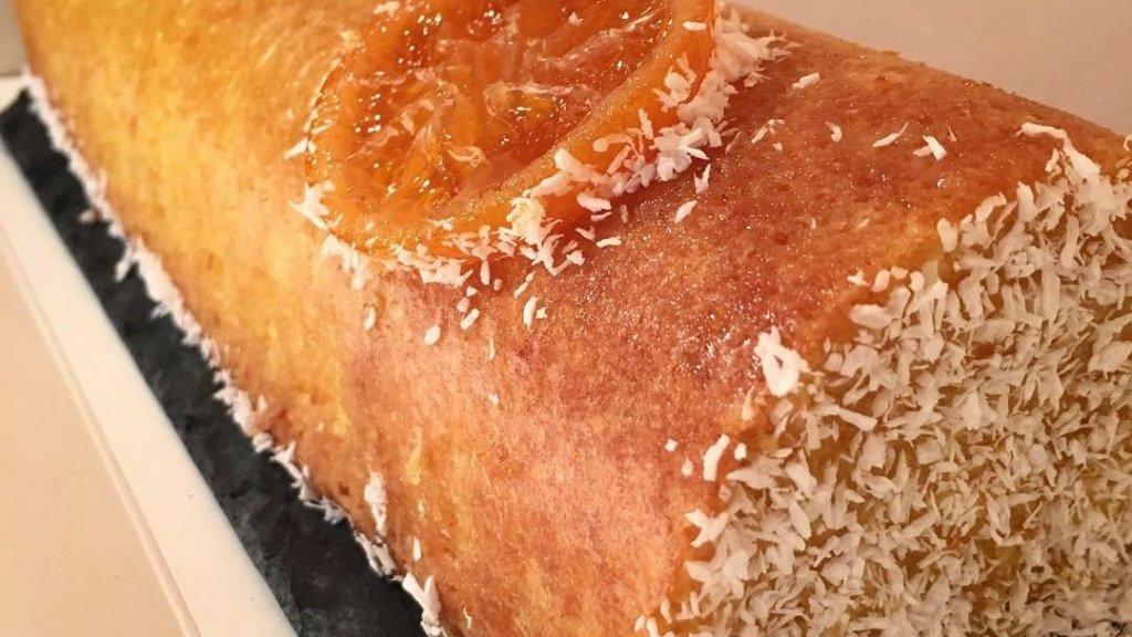 Cake clémentine et noix de coco