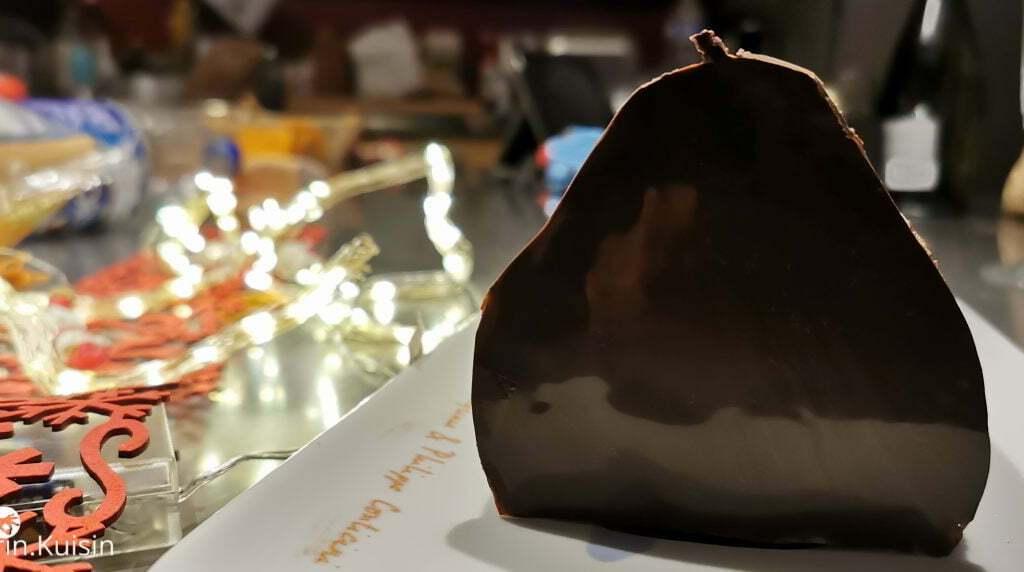 bûche poire chocolat final