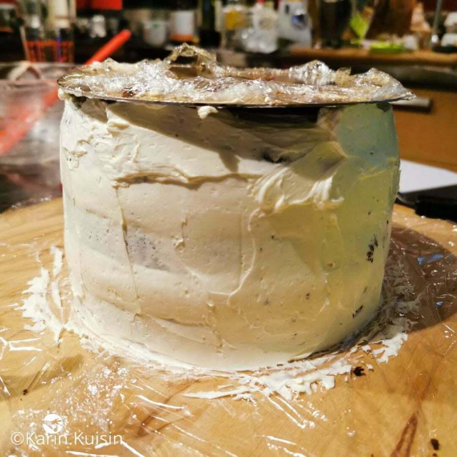 montage crème lisser