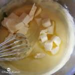 pâtissière beurre ajouter