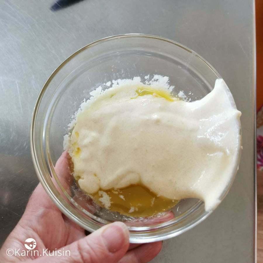 appareil joconde beurre ajouter