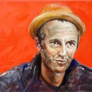 Karin Merx, Hillman Curtis, oil on canvas