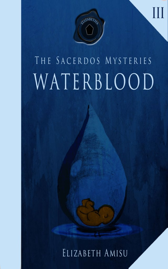 Waterblood-cover, design and Illustration Karin Merx