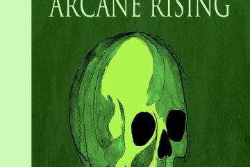 Cover arcane-rising, design, illustration Karin Merx