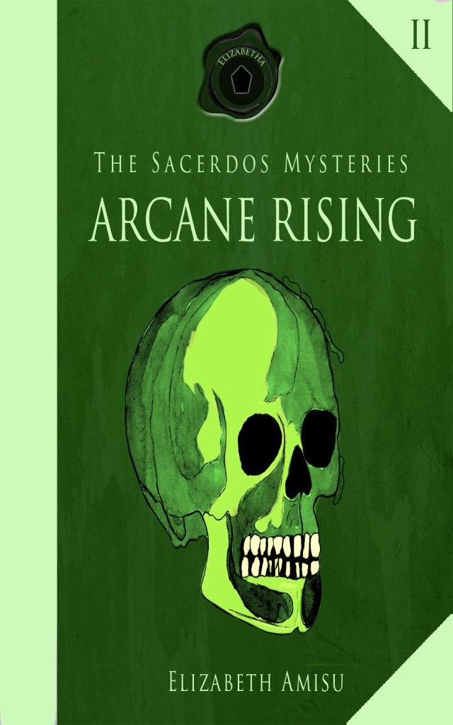 Cover arcane-rising, design, illustration Karin Merx