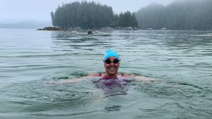 Chatelaine: How Marathon Ocean Swims Help Susan Simmons Cope With MS