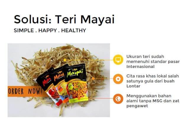 solusi dari produk makanan