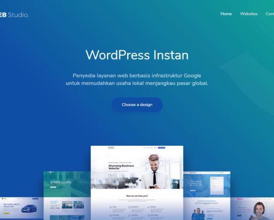 desain website siap pakai