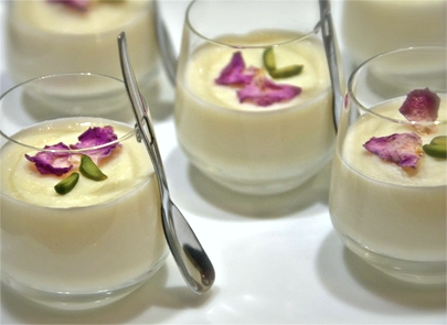 Rose in Paradise - A Persian dessert