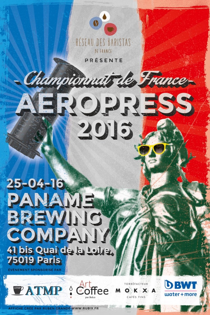 2016 French Aeropress Championship | The 3 winning recipes