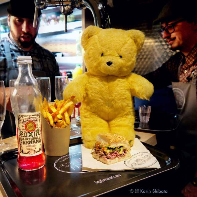 monsieur kodak bear big fernand burger paris