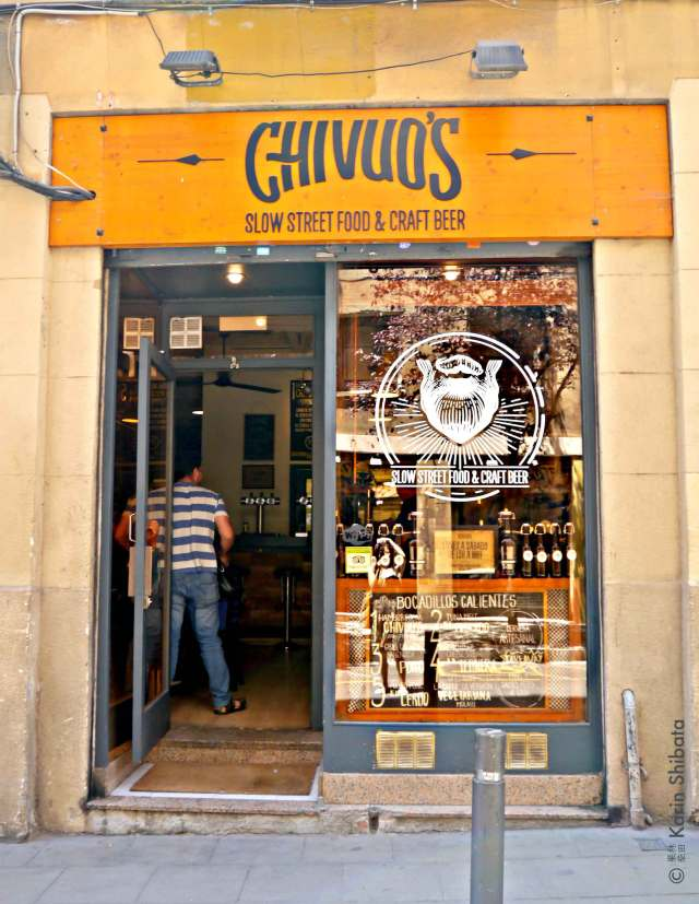 chivuo's best burger barcelona craft beer