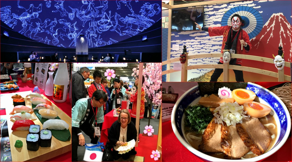 Haneda Airport | The MUST visit of Le Salon Mondial du Tourisme Paris 2018