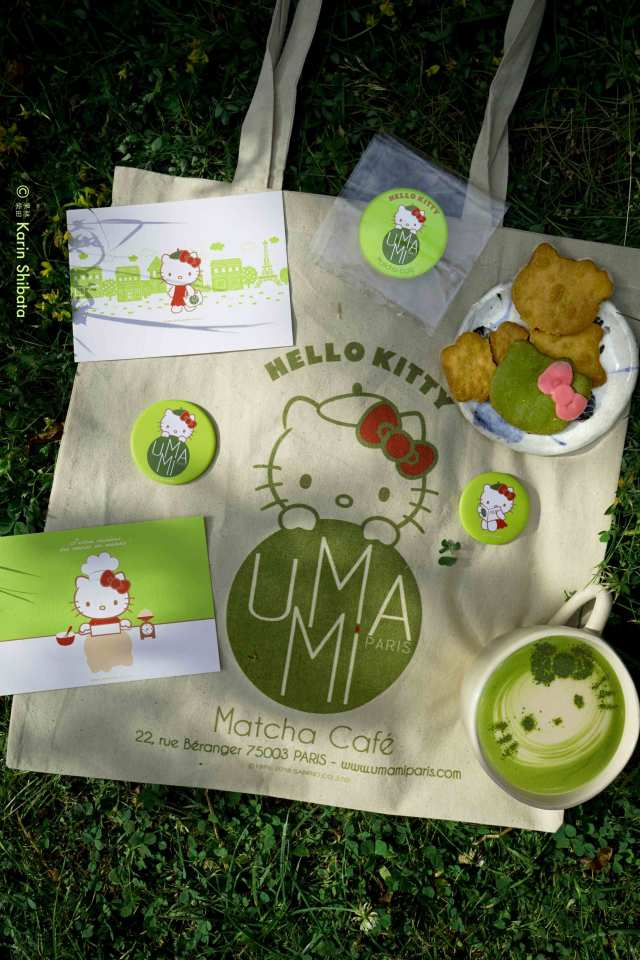 umami matcha cafe x hello kitty 1