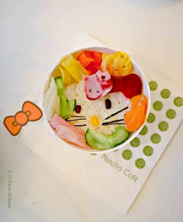 umami matcha cafe x hello kitty 4
