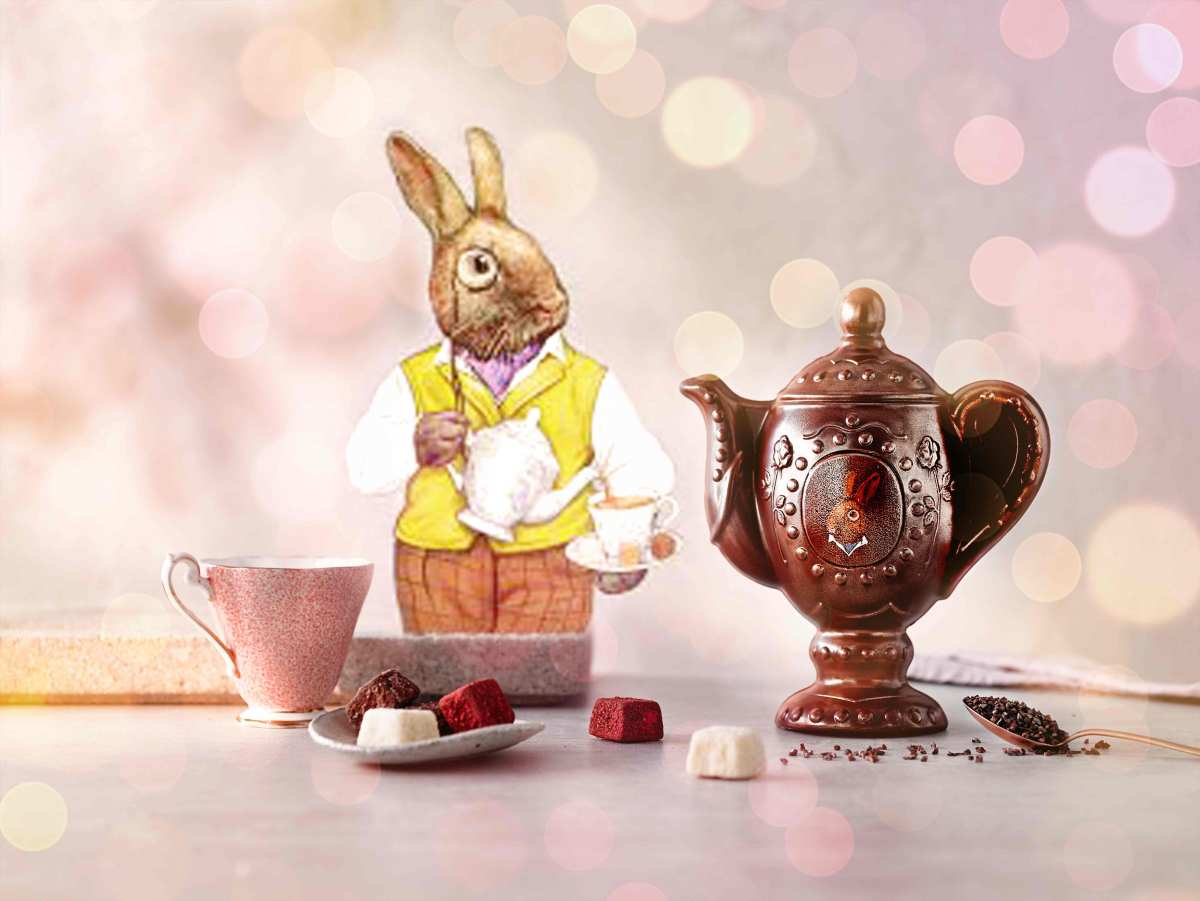 Easter 2019 | Heston Blumenthal x Waitrose | Mad Hatter's Chocolate Teapot