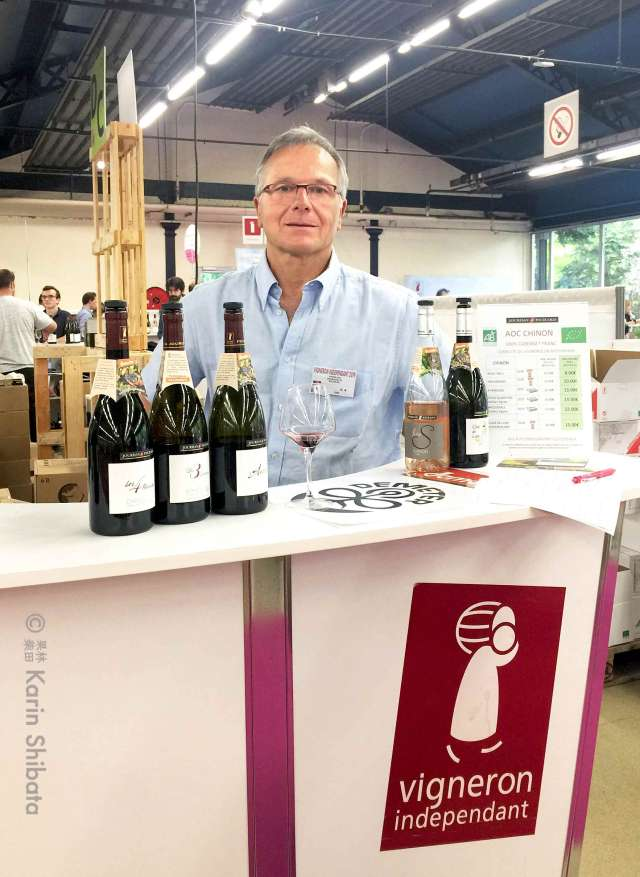 francis jourdan salon nature et vins 2019 vignerons independants