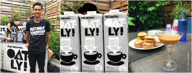 cafe festival oatly lait avoine barista