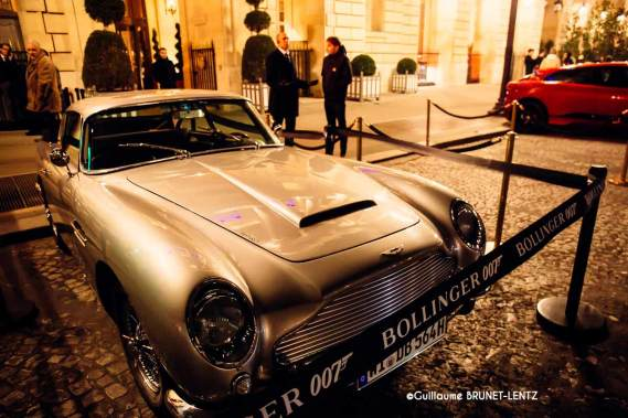 Bollinger x James Bond 007 hotel crillon party 11