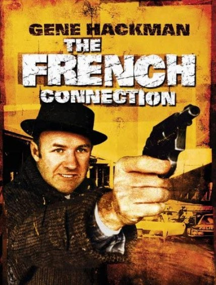 the french connection gene hackman movie poster