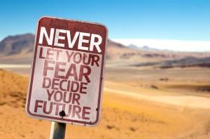 Lass nicht zu, dass die Angst dich bremst