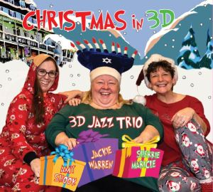 3D Jazz Trio Holiday CD Cover