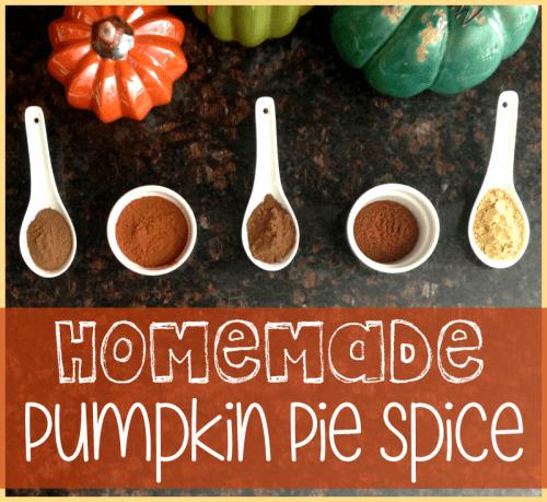pumpkin pie spice header