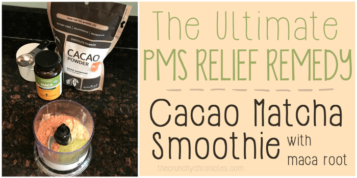 Natural PMS Home Remedy: PMS Relief Smoothie