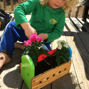 Upcycle Old Toys into Planters DIY