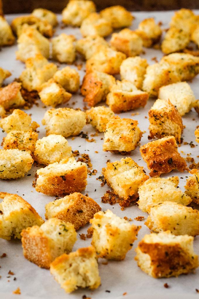 vegan croutons