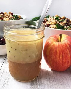 Apple Cider Vinaigrette Dressing