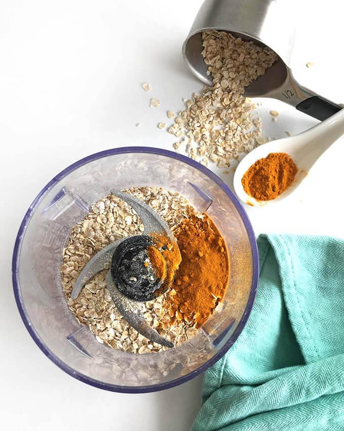 DIY Turmeric Oatmeal Face Mask