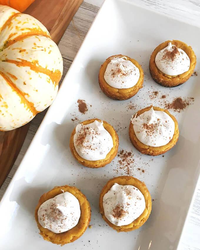 Vegan Pumpkin Cheesecake with Gluten-Free Chocolate Crust