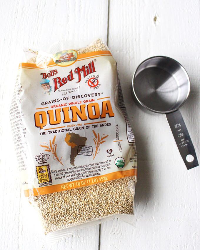 Triple Berry Quinoa Parfait - A healthy vegan breakfast idea!